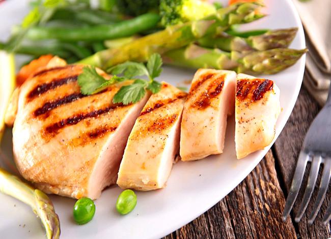 Elige la pechuga es la parte más magra del pollo