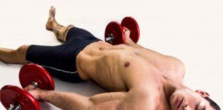 El descanso de ejercicio ayuda en tamaño y fuerza