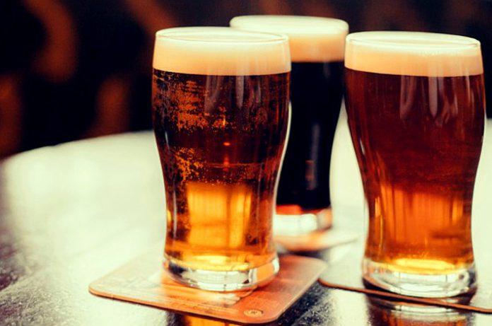 Una pequeña cantidad de alcohol el cerebro