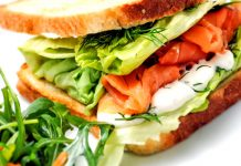 Proteinas balanceadas en un sandwiche